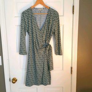 Stitch Fix 41 Hawthorn Faux Wrap Dress Sz. M